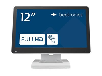 Monitor dotykowy 12 cali (biały)